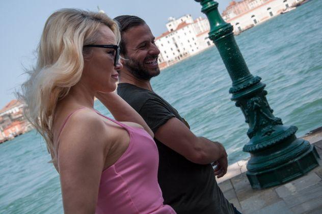 Pamela Anderson, Venezia 2017, photo Irene Fanizza