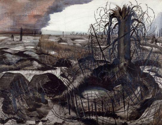 Paul Nash, Wire, 1918 © IWM