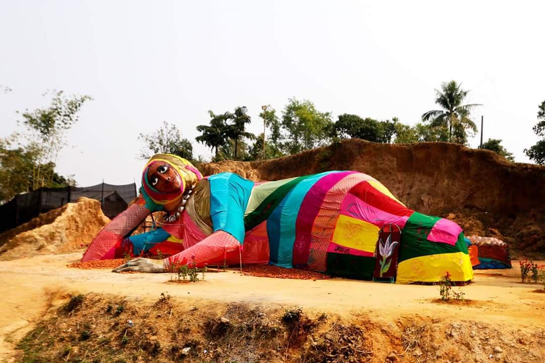 Pawel Althamer, Rokeya, 2017 - Samdani Art Centre and Sculpture Park, Sylhet, Bangladesh
