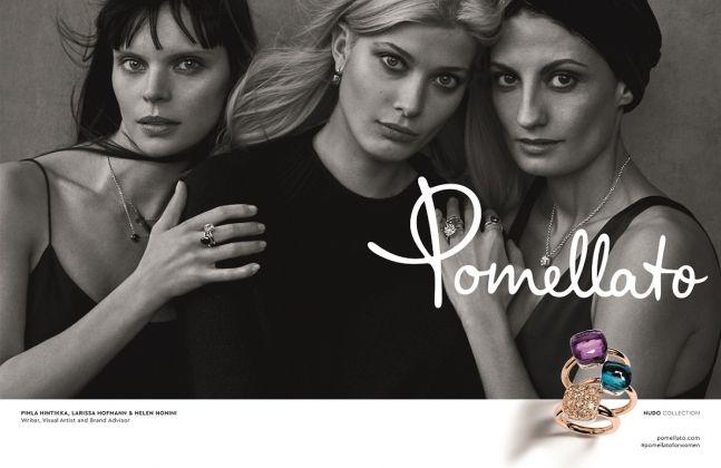 Peter Lindbergh for Pomellato, campagna 2017 #PomellatoForWomen