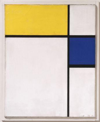 Piet Mondrian, Composizione con blu e giallo, 1932. Philadelphia Museum of Art, Philadelphia