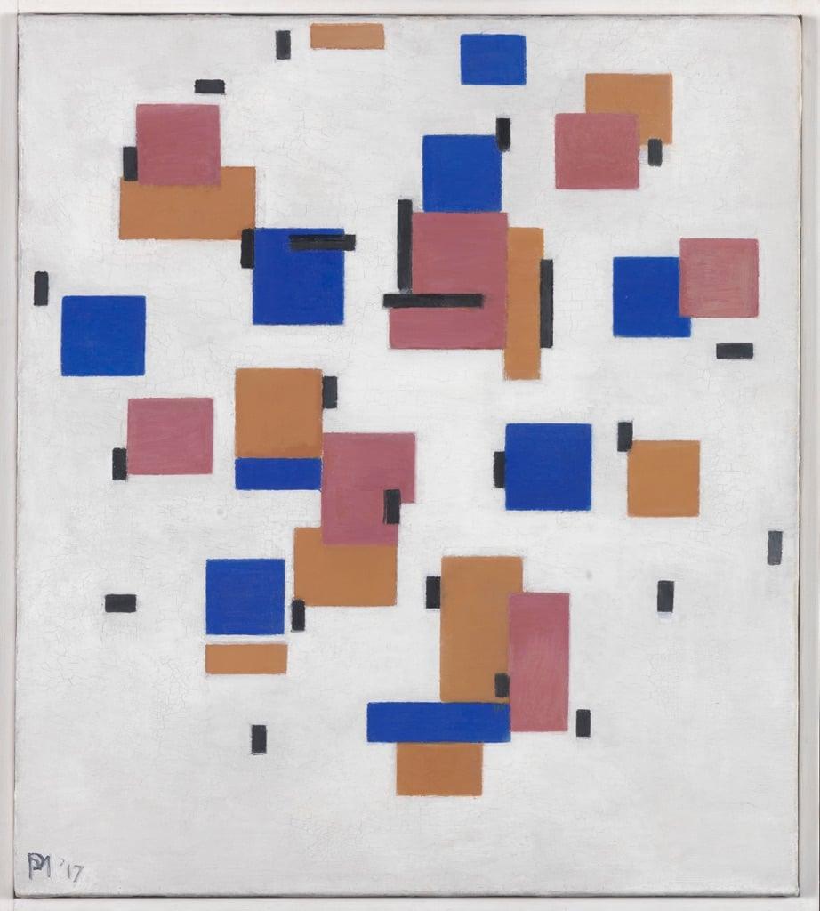Piet Mondrian, Composizione in colore B, 1917