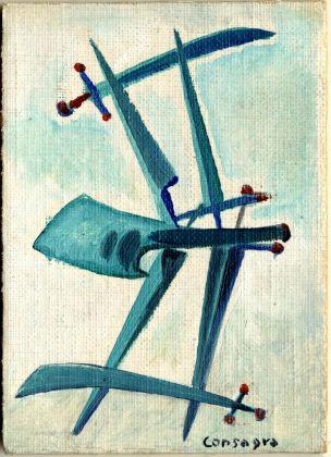 Pietro Consagra, Sette di spade. Collezione Paola Masino