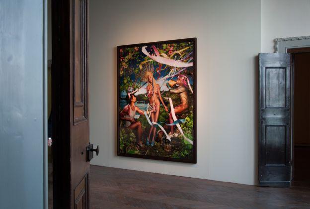 Rebirth of Venus, 2009 © David LaChapelle, Casa dei Tre Oci, Venezia 2017, photo Irene Fanizza