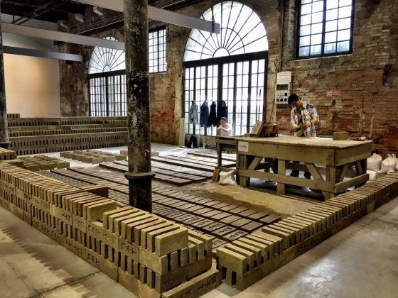 Rirkrit Tiravanija, Untitled 2015 (14.086), 2015. Veduta dell'installazione alla Biennale di Venezia