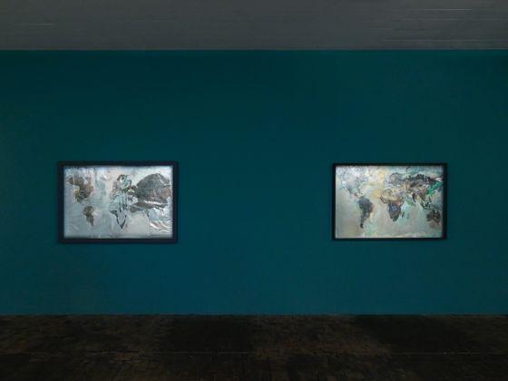 Roberto Cuoghi. Perla Pollina 1996-2016. Exhibition view at CAC-Centre d'Art Contemporain Genève, 2017. Photo Annik Wetter