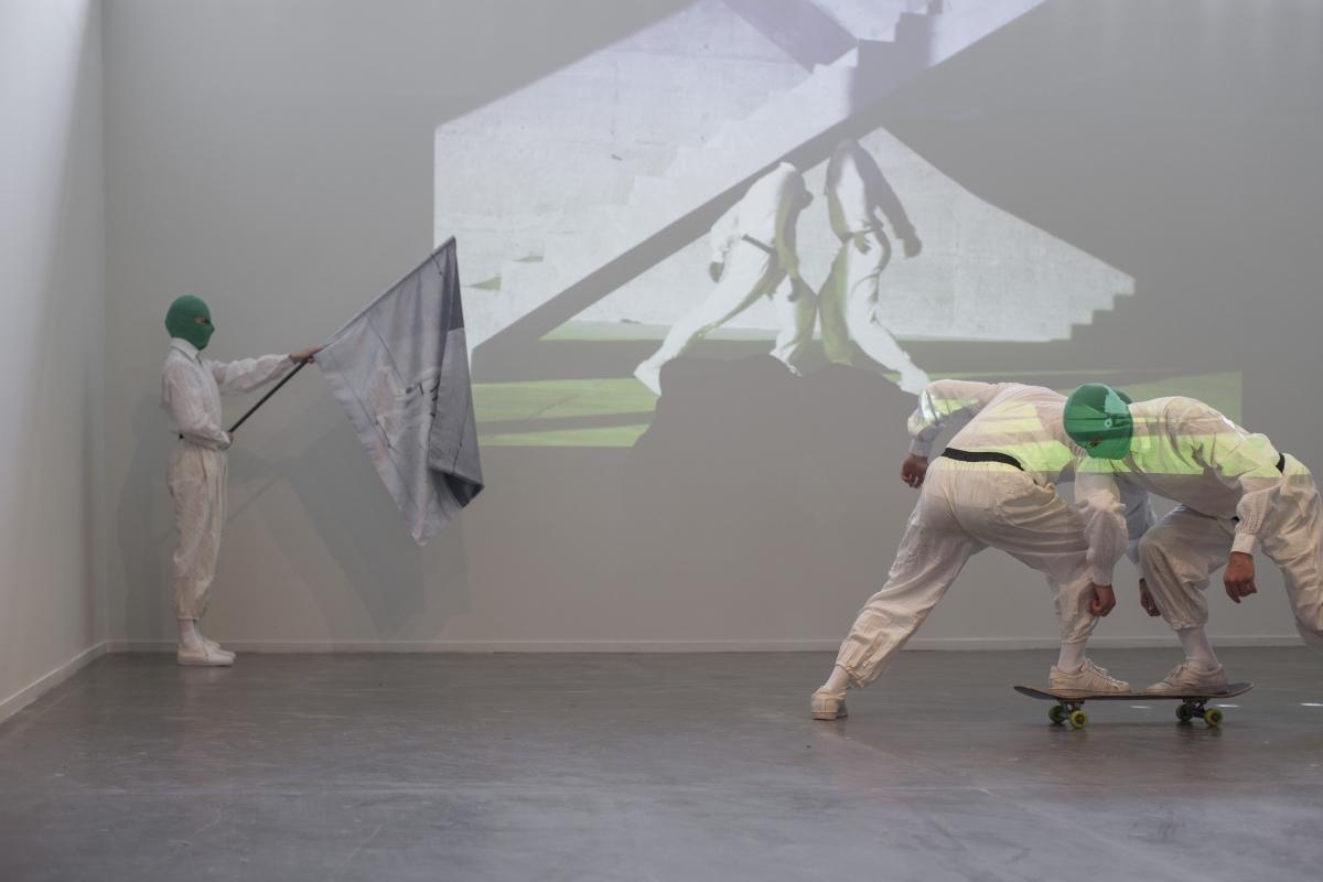 SP-Arte 2017, San Paolo, performance di Fabiano Rodrigues, photo Jéssica Mangaba