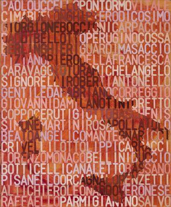 Salvo, 57 pittori italiani, 1975. Eredi Colnaghi. Photo Agostino Osio, Milano