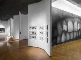 Santiago Sierra. Mea Culpa. Exhibition view at PAC, Milano 2017. Photo © Masiar Pasquali