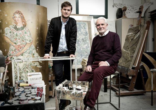 Sebastian Herkner and Lucio Doro -® Laila Pozzo per Doppia Firma