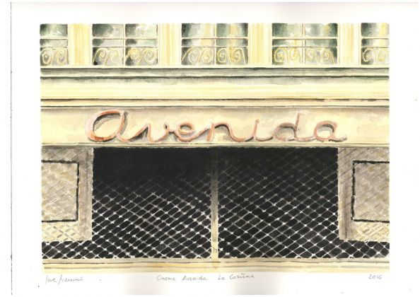 Severino Salvemini, Cinema Avenida. La Coruna