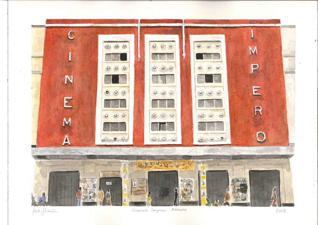 Severino Salvemini, Cinema Impero. Asmara