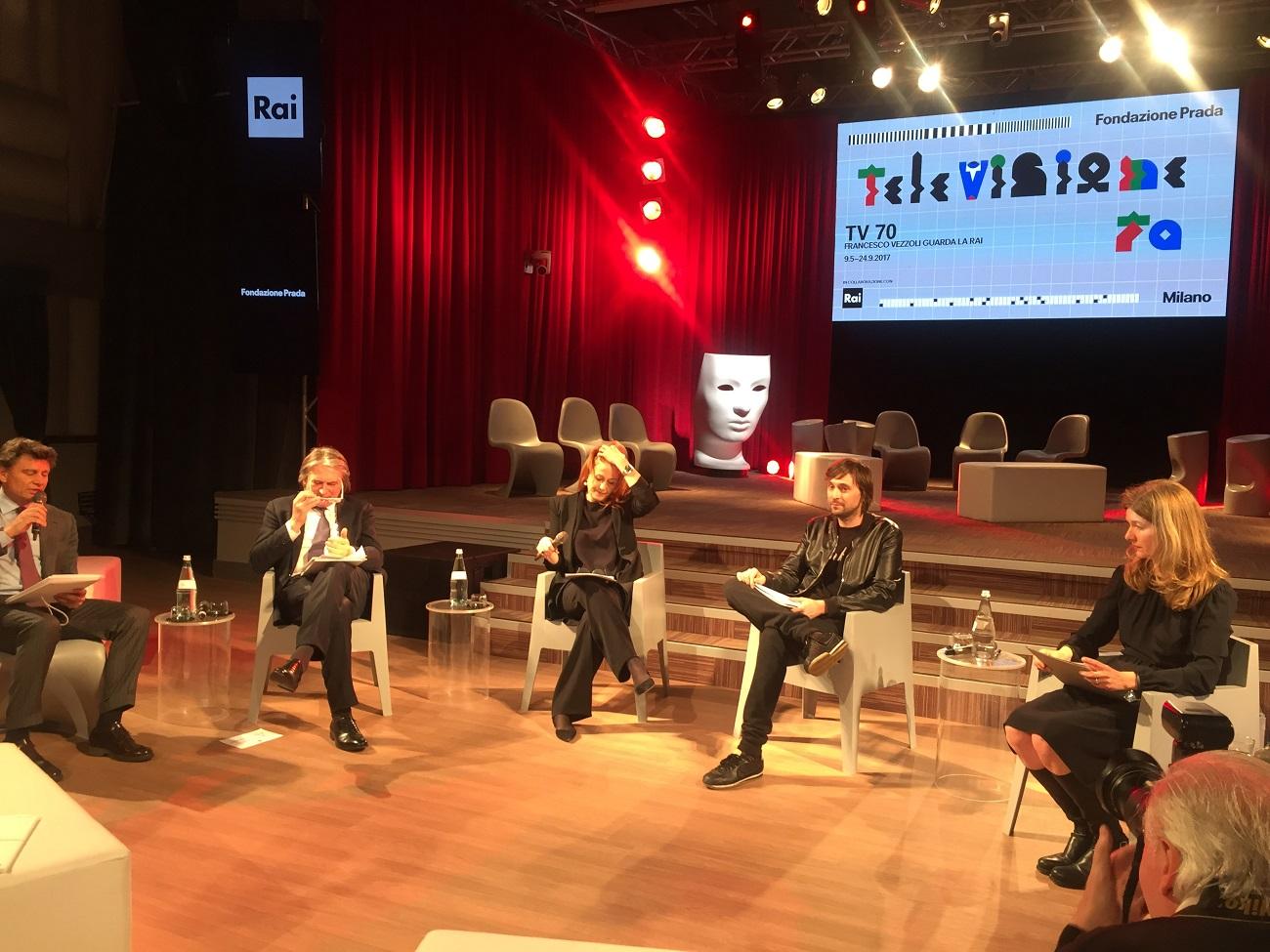 TV70. Francesco Vezzoli guarda la Rai. Conferenza stampa del 27 aprile 2017, Rai, Roma