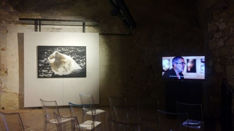 Thierry Konarzewski. ENOSIM Il posto delle anime. Exhibition view at Spazio CARTEC, Cagliari 2017. Photo Elisabetta Masala