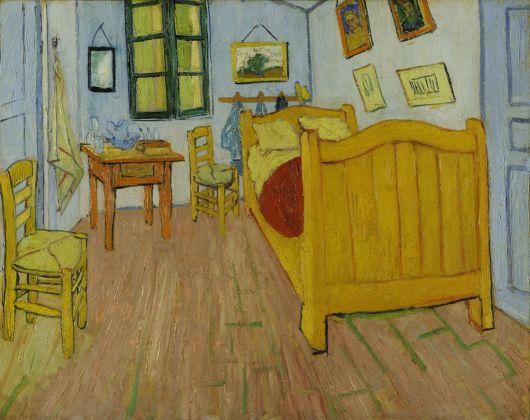Vincent van Gogh, La chambre à coucher (prima versione), 1888. Museo van Gogh, Amsterdam