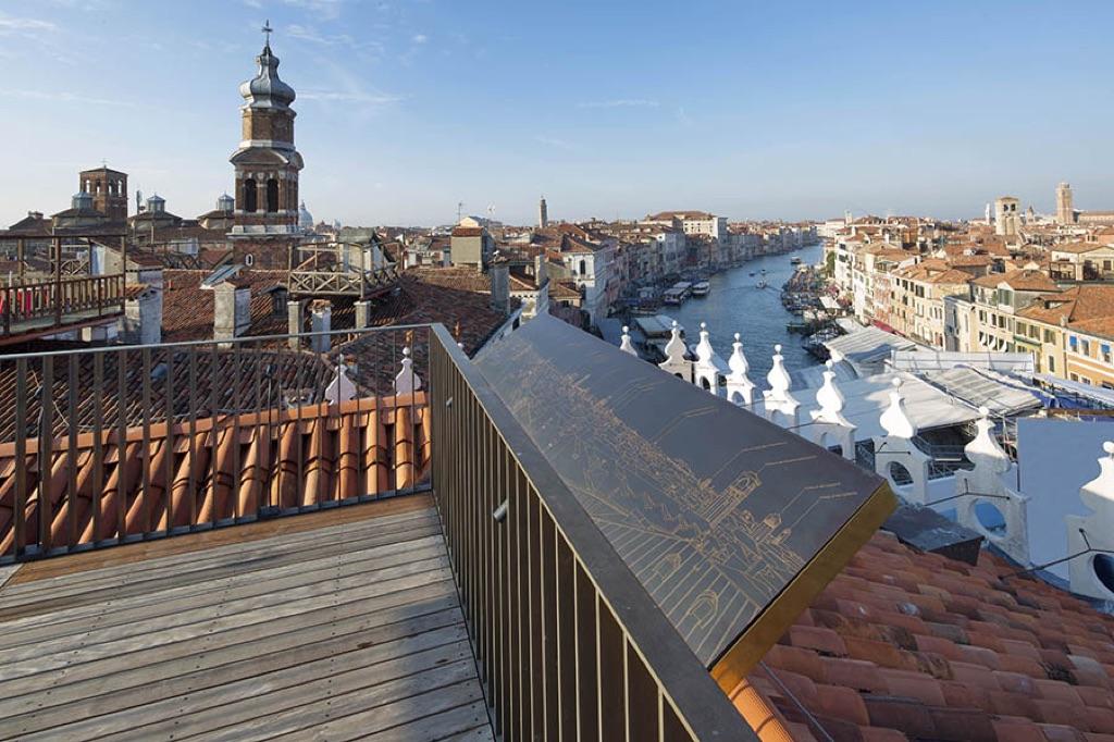 Vista da T Fondaco dei Tedeschi, Venezia