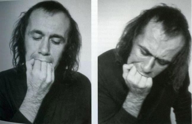 Vito Acconci, Three Adaptation Studies (Hand & Mouth)
