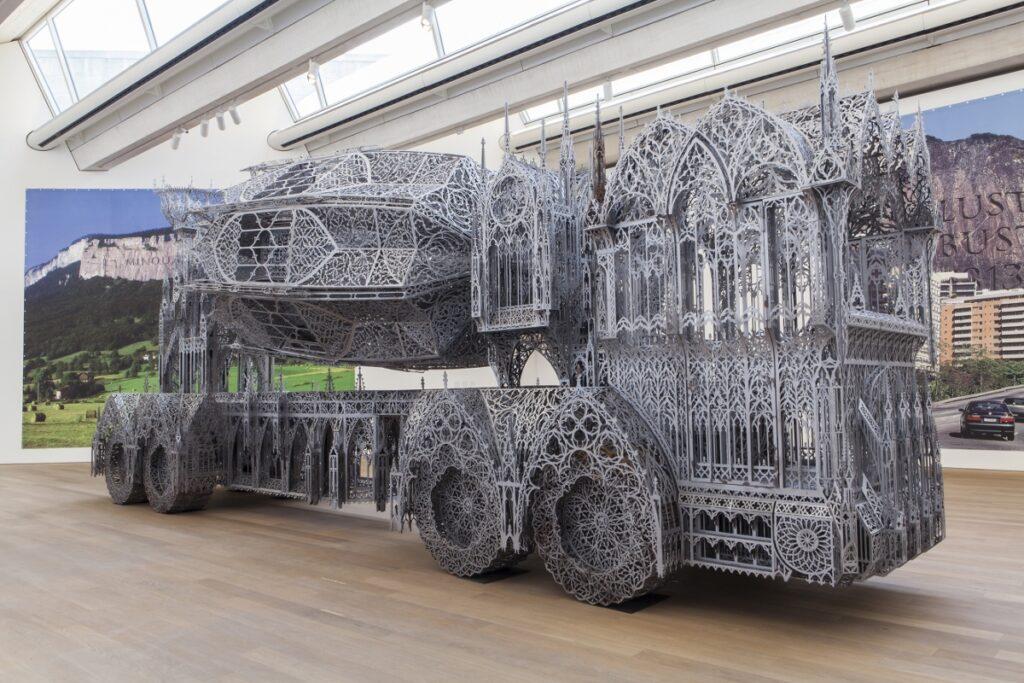 Wim Delvoye per la guglia di Notre-Dame