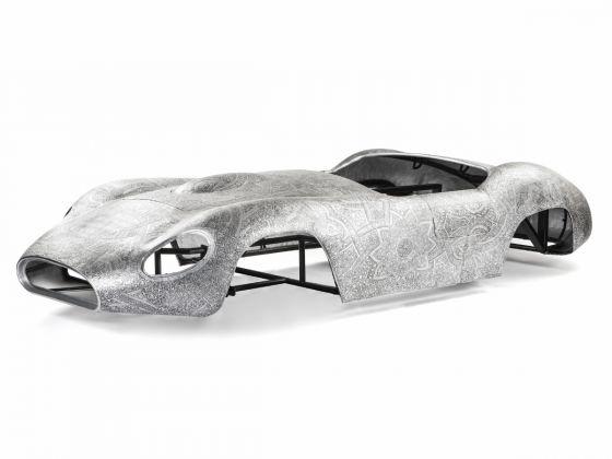 Wim Delvoye, Maserati 2014, credits 2017 Pro Litteris, Zurich Wim Delvoye, Photo Studio Wim Delvoye, Belgien