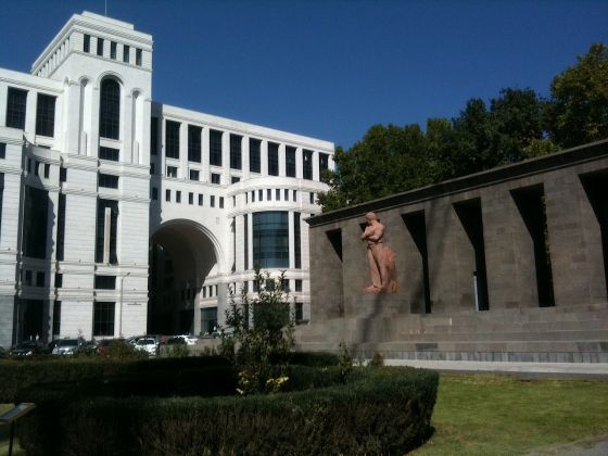 Yerevan, Municipio. Photo Claudia Zanfi