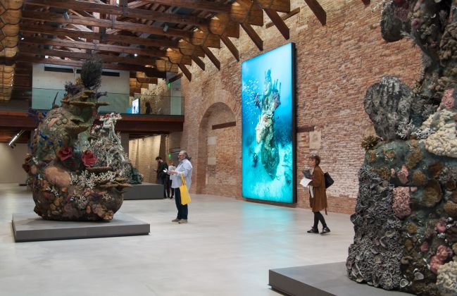 Damien Hirst, Treasures from the Wreck of the Unbelievable, ph. Irene Fanizza