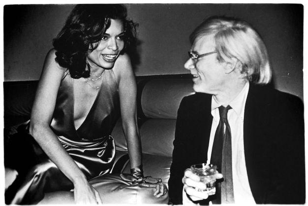 Con Bianca Jagger