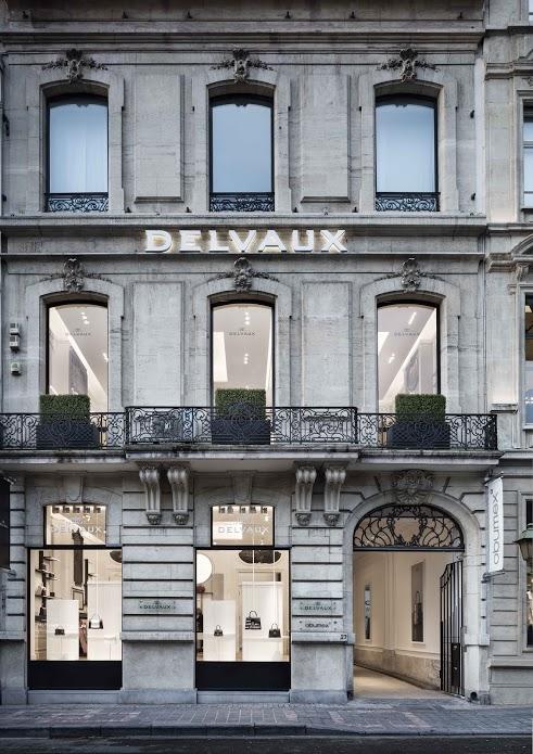 Negozio Delvaux a Bruxelles