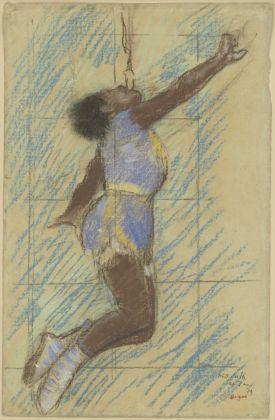 Miss La La at the Cirque Fernando, 1879, bozzetto di Edgar Degas © The J. Paul Getty Museum; digital image courtesy of the Getty's Open Content Program