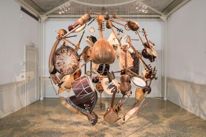 57. Esposizione Internazionale d'Arte, Venezia 2017, Padiglione Azerbaigian, Elvin Nabizade, Sphere. Image courtesy by Ugo Carmini