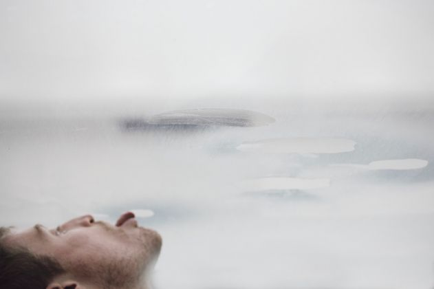 57. Esposizione Internazionale d'Arte, Venezia 2017, Padiglione Germania, Anne Imhof, Faust [Billy Bultheel]. Photo © Nadine Fraczkowski. Courtesy German Pavilion 2017 & the artist