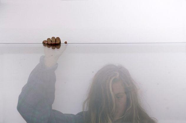 57. Esposizione Internazionale d'Arte, Venezia 2017, Padiglione Germania, Anne Imhof, Faust [Emma Daniel]. Photo © Nadine Fraczkowski. Courtesy German Pavilion 2017 & the artist
