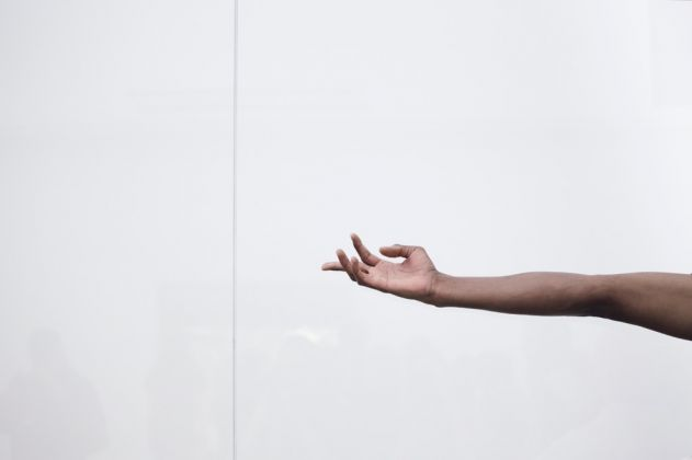 57. Esposizione Internazionale d'Arte, Venezia 2017, Padiglione Germania, Anne Imhof, Faust [Josh Johnson]. Photo © Nadine Fraczkowski. Courtesy German Pavilion 2017 & the artist