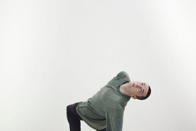 57. Esposizione Internazionale d'Arte, Venezia 2017, Padiglione Germania, Anne Imhof, Faust [Mickey Mahar]. Photo © Nadine Fraczkowski. Courtesy German Pavilion 2017 & the artist