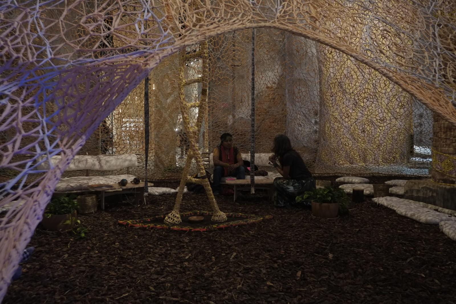 57. Biennale di Venezia, Arsenale, Ernesto Neto, ph. Andrea Ferro