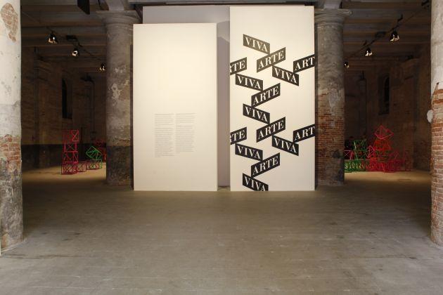57. Biennale di Venezia, Arsenale, veduta della mostra, ph. Andrea Ferro