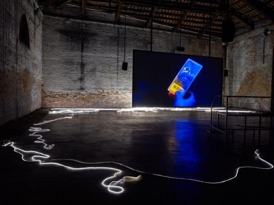 57. Esposizione Internazionale d'Arte, Venezia 2017, Padiglione Italia, Adelita Husni-Bey, The Reading / La Seduta, 2017. Photo Marco De Scalzi