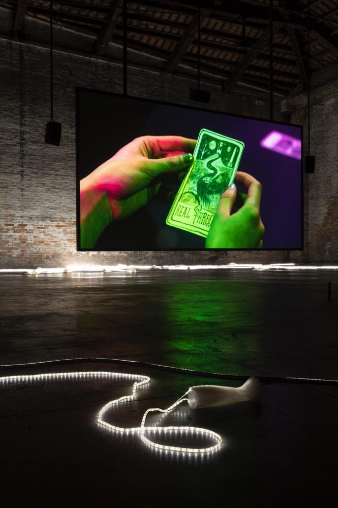 57. Esposizione Internazionale d'Arte, Venezia 2017, Padiglione Italia, Adelita Husni-Bey, The Reading / La Seduta, 2017. Photo Roberto Marossi