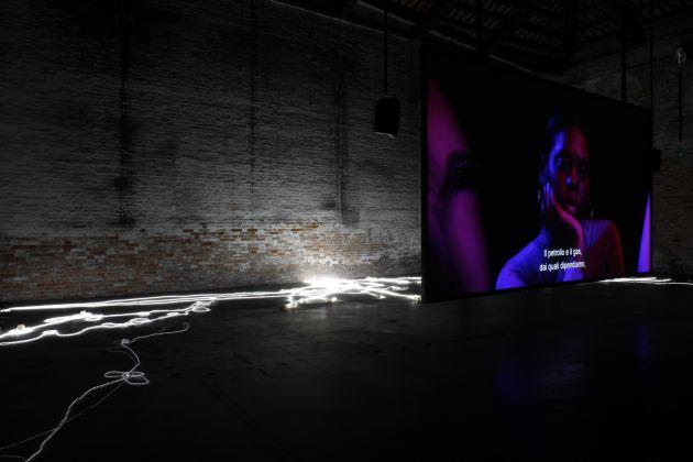 57. Esposizione Internazionale d'Arte, Venezia 2017, Padiglione Italia, Adelita Husni-Bey, The Reading La Seduta, photo credit Andrea Ferro