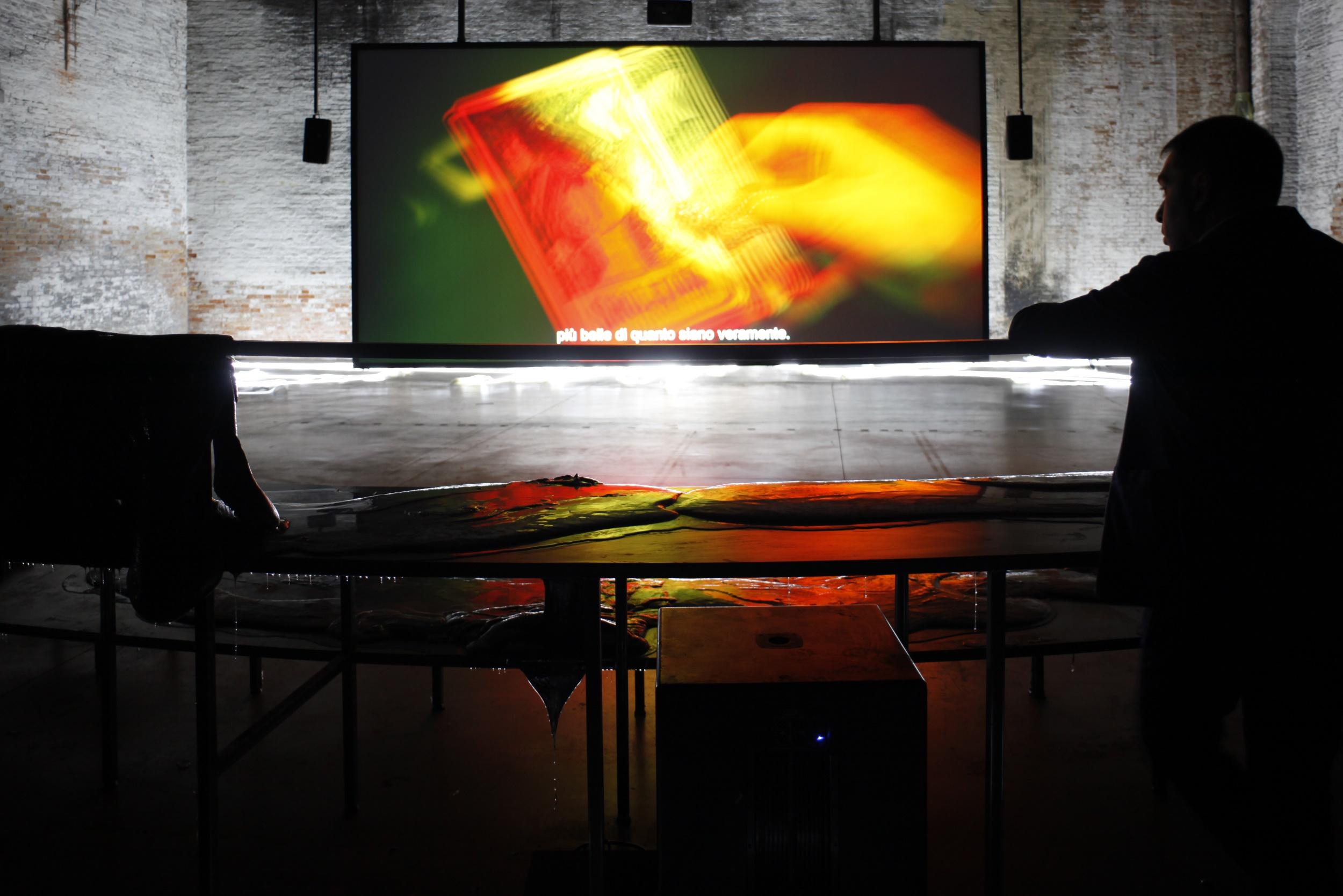 57. Esposizione Internazionale d'Arte, Venezia 2017, Padiglione Italia, Giorgio Andreotta Calò, Senza titolo (La fine del mondo), photo credit Andrea Ferro