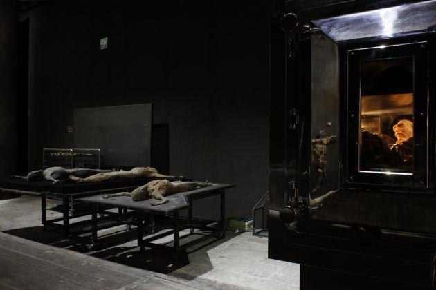 57. Esposizione Internazionale d'Arte, Venezia 2017, Padiglione Italia, Roberto Cuoghi, Imitazione di Cristo, photo credit Andrea Ferro
