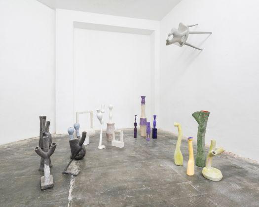Alberto Mugnaini. Colori Minori. Installation view at Mars, Milano 2017. Photo Cosimo Filippini