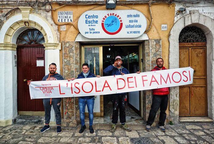 Alessandro Bulgini, Taranto Opera Viva. Isola dei Famosi, 2017