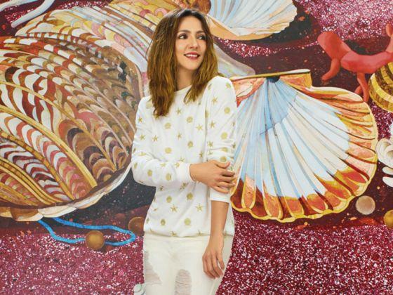 Ambra Angiolini, testimonial per OVS Arts of Italy
