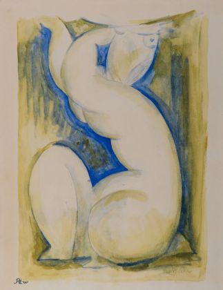 Amedeo Modigliani, Cariatide. Strasburgo, Collezione privata