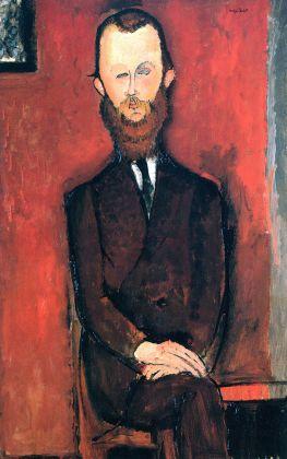 Amedeo Modigliani, Il conte di Wielhorski, 1917. Collezione privata