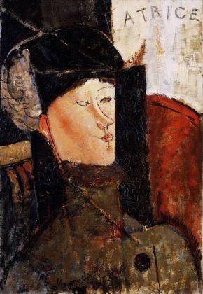 Amedeo Modigliani, Ritratto di Beatrice Hastings, 1916. New York, Achim Moeller Fine Art