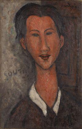 Amedeo Modigliani, Ritratto di Chaim Soutin, 1971. Massagno, Collezione privata
