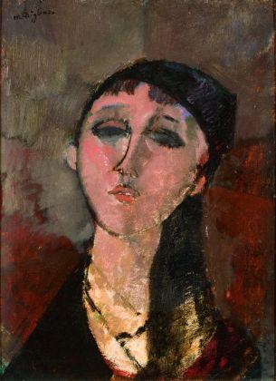 Amedeo Modigliani, Testa di donna (Louise), 1915. Wuustwezel, Collezione privata