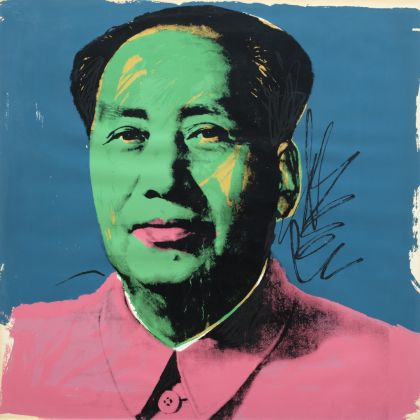 Andy Warhol, Untitled (Mao Tse-Tung Series), 1972. Collezione Teresa e Michele Bonuomo, Milano. Photo Antonio Maniscalco © The Andy Warhol Foundation for the Visual Arts Inc. by SIAE 2017