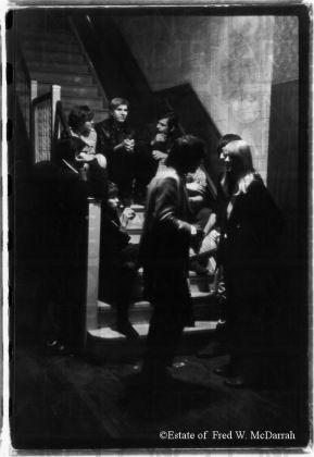 Andy Warhol con i Velvet Undergorund